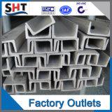 Profilé en u d'acier d'ASTM A36 Ss400 Q235