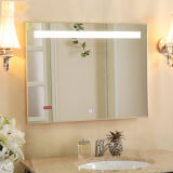 Rectangular LED retroiluminada de pared decorativos Espejo para Villas espejo del baño