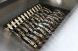 Neumático inútil del neumático que destroza la máquina doble de la desfibradora del eje