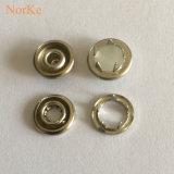 Bouton en métal de bijou de bouton de rupture de fourche de perle