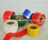 Ruban auto-fusible en couleur rouge pour réparation de tuyau de radiateur d'urgence