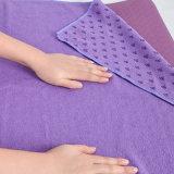 Estera de secado rápido de la toalla de la yoga del buen fabricante de China