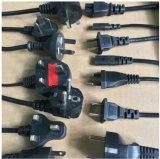 Cable eléctrico BRITÁNICO aprobado 3pin del Bsi con IEC C5