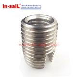 Porca Parte-Entalhada Toleranceswith padrão da inserção para o material do metal
