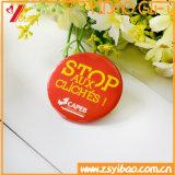 Pin del botón del estaño del diseño de la insignia de Customed/divisa para la ropa (YB-TB-01)