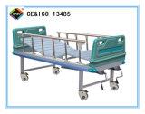 (A-88) het Beweegbare Groene Dubbele Bed van het Ziekenhuis van de Functie Hand