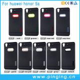 Huaweiの名誉5Aのための耐震性TPUカーボンファイバーの電話箱