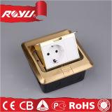 Assoalho elétrico dobro do Pin da alta qualidade 3 - soquetes montados