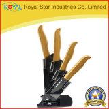 卸売3-6のインチ6PCSのセットされる陶磁器の包丁(RYST0236C)