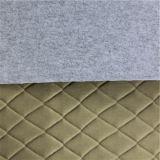 Дешевая выбитая кожа драпирования PVC
