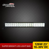 licht van de 23inch126W CREE het Lichte Staaf 4X4