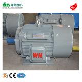 Elektrische Motor in drie stadia