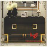 Таблица стороны таблицы чая таблицы пульта журнального стола таблицы мебели мебели гостиницы мебели дома нержавеющей стали мебели Sideboard (RS160602) самомоднейшая
