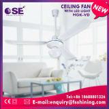 Ventilateur de plafond 220V blanc économiseur d'énergie avec l'éclairage LED