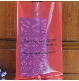 고품질 비닐 봉투 색깔 부대 빨간 PE 편평한 소형 식품 포장