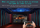 Minisupport 1080P Wxga 1280*800 des projektor-3D der Projektor-3000lumens LCD
