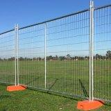 Clôture provisoire galvanisée bon marché en métal de l'Australie 2.1X2.4m