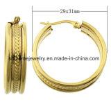 عالة [ستينلسّ ستيل بودي] مجوهرات حلق مجوهرات ([إرس6922])