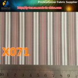 Polyester-Garn-gefärbtes Streifen-Gewebe, sofortige Waren für Frauen-Klage-Futter (X071-6)