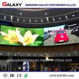 Écran de visualisation visuel fixe d'intérieur de mur de DEL pour l'exposition d'événement annonçant l'étape