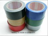 Naturaleza de goma adhesiva del paño de la cinta aislante