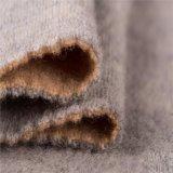 Doubles tissus de cachemire de côtés de 100% pour la saison de l'hiver dans le gris