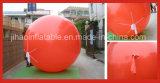 Aerostato rosso gonfiabile gigante dell'elio per la promozione