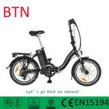Btn中国の販売のための安い緑の折るバイクの電気自転車