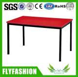 Table ronde en bois d'enfants de vert de meubles de gosses