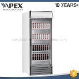 Grosse Kapazitäts-einzelner Glastür-Bildschirmanzeige-Kühlraum