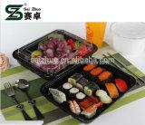 caixa de empacotamento do sushi plástico descartável do alimento 500ml (S815)