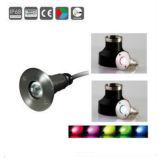3W IP68の水中ライト、水中ランプ、海洋LEDライト