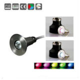 3W IP68 수중 빛, 수중 램프, 바다 LED 빛