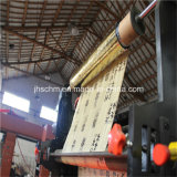 Máquina cortando da imprensa hidráulica para o rolo de borracha da fita