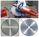 Lámina de corte circular del asfalto