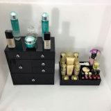 Organisateur acrylique de renivellement de noir libre de combinaison avec 6 tiroirs