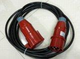 Cable de transmisión con el varón de la forma de 32 A.C. a la hembra