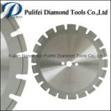 Бетонная стена увидела лезвие диаманта влажного сухого режущего инструмента лазера конкретное