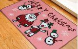 Estera decorativa del suelo de la Navidad de puerta del regalo superventas de la estera