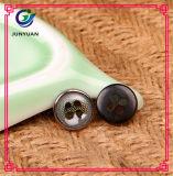Botão redondo do teste padrão do botão do terno da cam