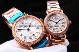 Orologi del metallo dell'acciaio inossidabile di qualità per gli uomini e le signore