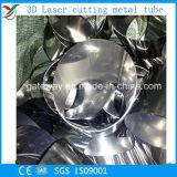 Tubo del cuadrado del acero de carbón del corte del laser
