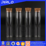15ml borran la botella de cristal con el tapón de madera del corcho