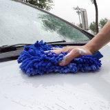 Подгонянная мягкая перчатка перчатки чистки/мытья автомобиля Microfiber быстро сухая