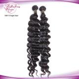 8A vendem por atacado barato frouxamente o cabelo brasileiro do Virgin da onda profunda