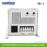 W7 desvio Grande display LCD de onda senoidal pura inversor 1000W-6000W, 12/24/48 VDC, 110/220/230/240 V