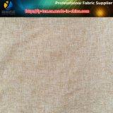 Gabardina de Sueded, gabardina gris, piel gris del melocotón del brezo, tela Two-Tone