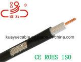 Cable coaxial RG6 para el cable de /Computer del cable del CCTV/el cable de datos/el cable de la comunicación/el cable audio