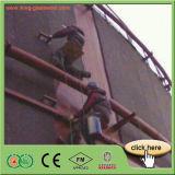 Cobertor de espuma de borracha da isolação térmica dos materiais de construção da parede exterior