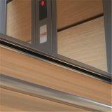 Ascenseur en verre d'intérieur extérieur guidé panoramique de levage de passager résidentiel